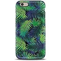 Fiori Floreale Foglie Tropicale cover case custodia per iPhone 5, 5s, SE, 6, 6s, 7, 7 plus, 8, 8 plus, X, XS, per Galaxy S6, S7, S8