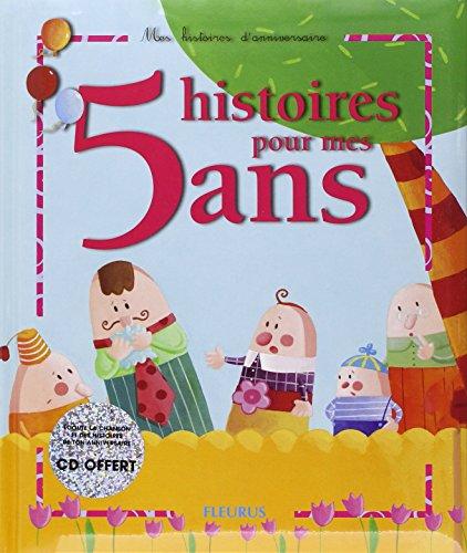 5 histoires pour mes 5 ans (1 livre + 1 CD audio) par Sophie Maraval-Hutin