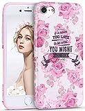 Imikoko iPhone 6 6S Hülle, iPhone 6 6S Rundumschutz Handy Hülle Schutzhülle Weich Silikon TPU Case Super Sweet Cute für Girl Frauen Mädchen(Pinke Rose, 4.7