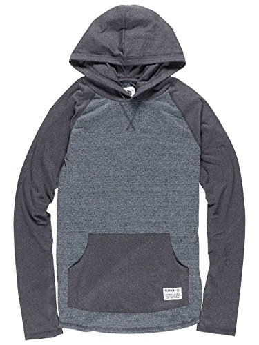 Herren Kapuzenpullover Element Ewell Hoodie Grey Heather