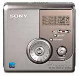 Sony MZ-NH900/S Tragbarer MiniDisc-Rekorder (Hi-MD) silber