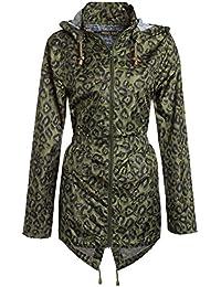 Chocolate Pickle ® Neue Damen Plus Größe Polka Dot Wasserdichte  Fischschwanz Regenmantel Jacke ... 5414e31d24