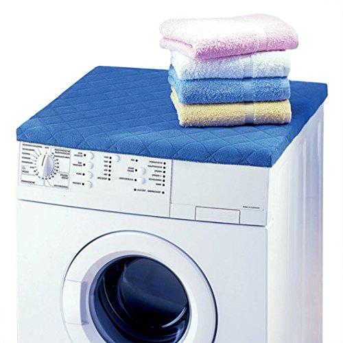 Betz Waschmaschinen Trockner Abdeckung Größe 60x60 cm Farbe Blau