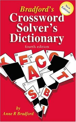 Bradford's Crossword Solver's Dictionary