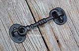 The Metal Magician Loquet de Porte en Fonte pour Portes et portails 12,7 cm