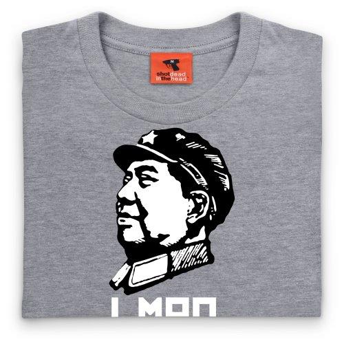 LMAO T-Shirt, Herren Grau Meliert