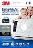 #8: 3M Electrostatic Air Purifying Filter for Split ACs (White - 2 pcs), Removes PM 2.5 pollutants & Turns AC into air purifier