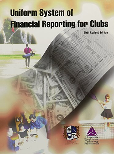 Uniform System of Financial Reporting for Clubs