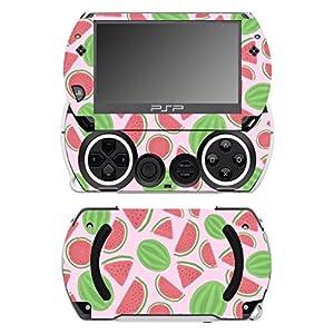 Disagu SF-14232_1069 Design Folie für Sony PSP Go – Motiv Wassermelonen rosa transparent