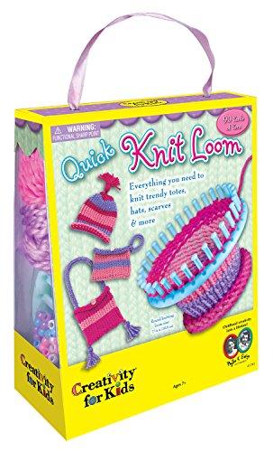 Kreativität für Kinder–Quick Knit Loom Kit