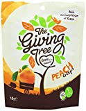 Giving Tree Freeze Dried Peach Crisps 18 g (Pack of 12)