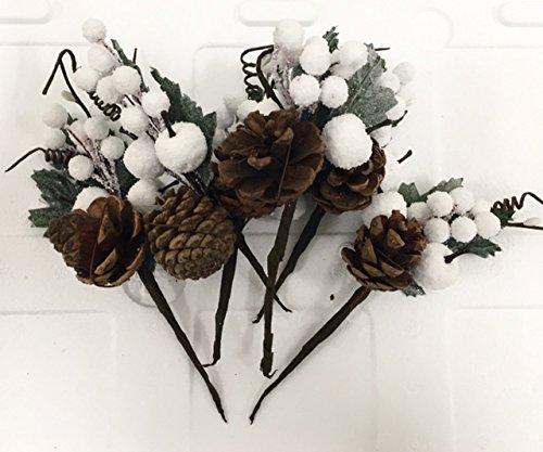 6-pezzi-pick-fiore-pigna-e-bacche-bianche-decorazione-albero-natale-fiori-di-natale