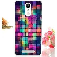Prevoa ® 丨 Xiaomi Redmi Note 3 Funda - Colorful Silicona TPU Protictive Funda Case Carcasa para Xiaomi Redmi Note 3 MU V7 (Android 5.1 Lollipop) 5.5 Pulgadas Smartphone - 10