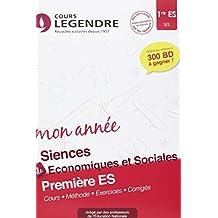 Sciences économiques 1re ES Cahier de vacances 1ère ES