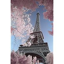 Poster Paris Torre Eiffel David Clapp