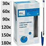 Kugelschreiber blau 30 Stück