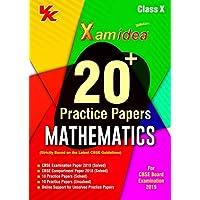 Xam Idea 20 Plus CBSE Sample Papers Mathematics Class 10 for 2019 Exam