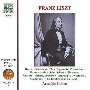 Liszt - Piano Works, Vol. 1