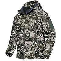 43d547b0e7a9f KEFITEVD Militare Giacca Uomo Impermeabile Tattico Esercito All aperto  Cappotto Multi Tasche Giacca Softshell Lavoro