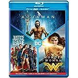 DC 3 Movies Collection: Aquaman + Wonder Woman + Justice League