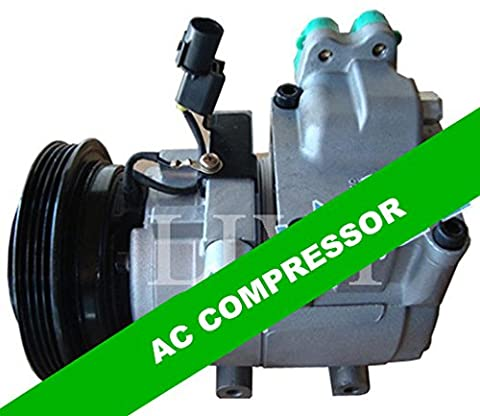 Gowe Climatisation Auto AC Compresseur pour voiture Hyundai Accent pour voiture Hyundai Elantra 4pk 200120022003200420052006