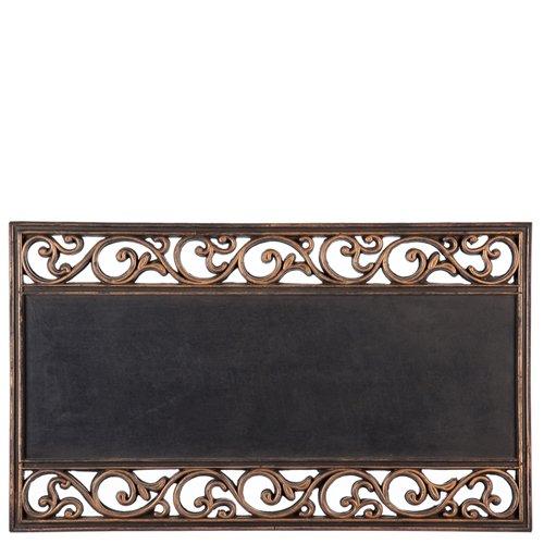 Metallic Scroll (Evergreen Flagge 2rms421Metallic Scroll Schalter Kokosmatte Tablett, Bunten)