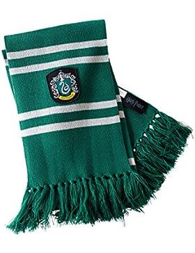 Bufanda Harry Potter Slytherin para fans de Hogwarts Elbenwald gris verde