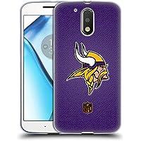 Official NFL Football Minnesota Vikings Logo Soft Gel Case for Motorola Moto G4 / G4 Plus