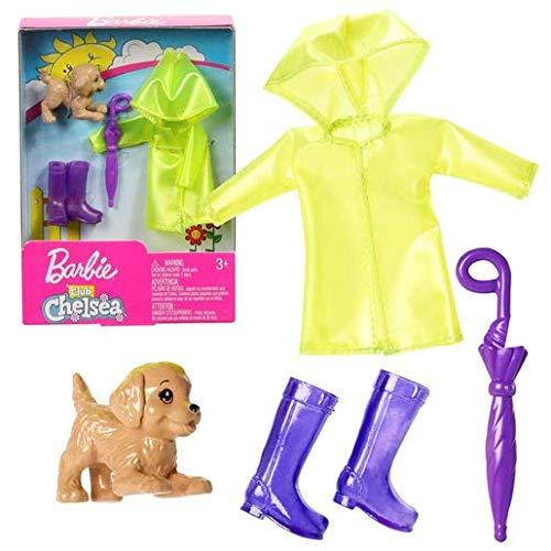 Barbie Mattel - FXN69 Club Chelsea - Rainy Day - Puppen-Kleidung für -