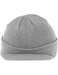 Berretto con Visiera Cappello Isolato Caldo Inverno a Maglia Berretto  Invernale Elegante per Uomo Donna ( 211040fff54e
