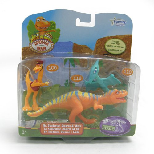 Imagen principal de Dinotren - Pack de 3 personajes: Dolores, Sr. Revisor, Shiny (TOMY LC53052MP)