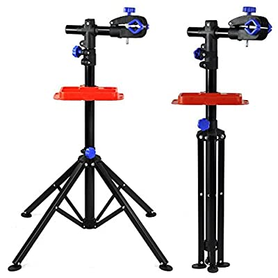 Popamazing Heavy Duty Bike Bicycle Maintenance Mechanic Repair Folding Work Stand Mountain Tool,Hold up to 50KG by Popamazing