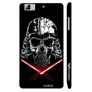 Lenovo K 900 Skull Raider designer mobile hard shell case by Enthopia