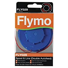 Flymo FLY029 Double Line Autofeed Spool and Line - Red