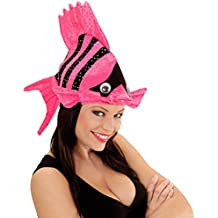 Divertido sombrero de peces tropicales tocado pescado animal pez payaso nemo carnaval