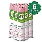 Air Wick Duftspray Magnolie & Kirschblüte, 6er Pack (6 x 300 ml)