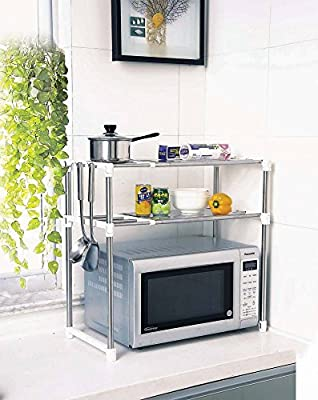 Aojia Microwave oven rack Kitchen Shelves 8204-2