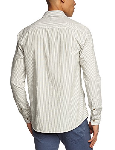 ONLY & SONS Herren Regular Fit Businesshemd 22000120 Grün (Olive Night 19-0515 TCX)