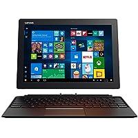 Lenovo Miix 72030,48cm (12pulgadas QHD IPS) Tablet PC (Intel Core i5–7200u, 8GB de RAM, 256GB SSD, Intel HD Gráficos 620, Windows 10Pro) Negro con teclado alemán QWERTZ [Importado de Alemania]
