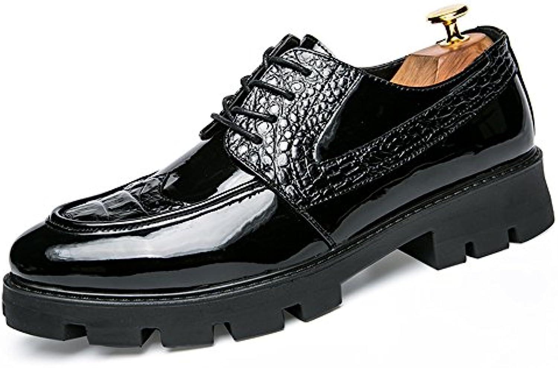 Yajie-scarpe store, Scarpe da uomo in brogue brogue brogue con cuciture in pelle stampa moda casual Oxford 2018 Scarpe Da Uomo... | The Queen Of Quality  e791b1
