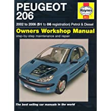 Peugeot 206: 2002 to 2006 Petrol and Diesel Owners Workshop Manual (Service & repair manuals)