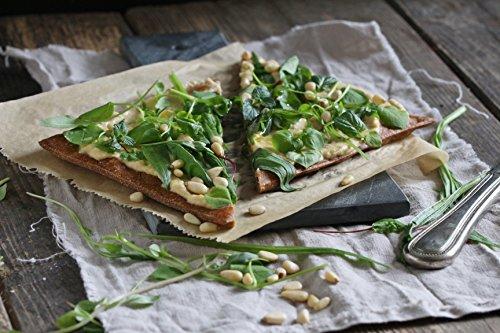 Lizza Low-Carb Pizza-Teig aus Lein-Samen und Chia-Samen (8 x 180g) - 6
