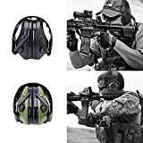 Best Shooting Ear Protection - Ocamo Noise Canceling Earmuff Sport Tactical Electronic Intelligent Review