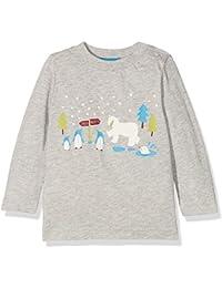 Kite Snow Scene T-Shirt, Camiseta de Manga Larga para Bebés