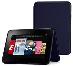 """Étui en cuir avec support Amazon pour Kindle Fire HD 8,9"""" - Bleu encre (est compatible avec Kindle Fire HD 8,9"""" uniquement)"""