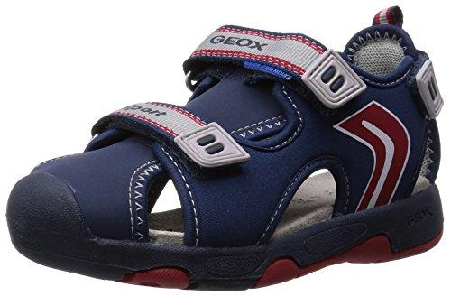 Geox Baby Jungen Multy Boy B Sandalen Blau (NAVY/REDC0735) 25 EU - Kid Wollte Boy Schuh