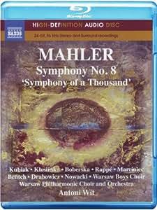 Symphonie N° 8 [Blu-ray] [(high-definition audio disc)]