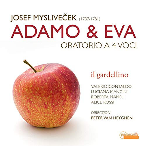 Adamo & Eva-Oratorium Für 4 Stimmen (1771) [Import allemand]