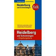 Falk Stadtplan Extra Standardfaltung Heidelberg / Schwetzingen