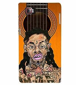 PrintVisa Music Guitar Rap 3D Hard Polycarbonate Designer Back Case Cover for Lenovo Vibe Z2 Pro K920